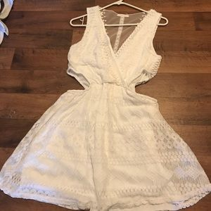 Women's boutique dress. Open sides.